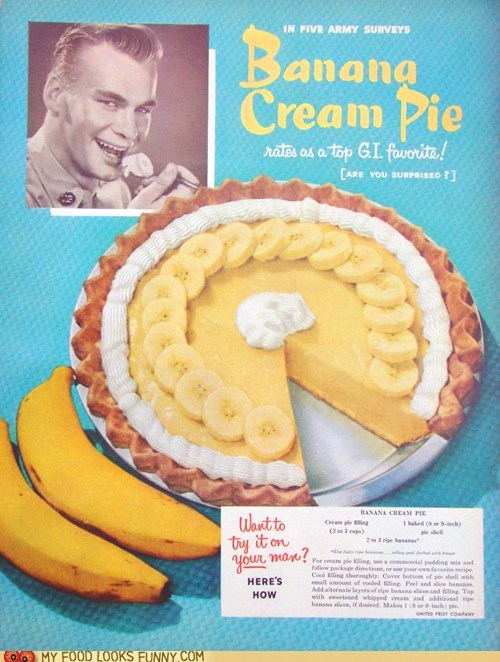 Banana Creep Pie