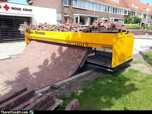 automated brick layer,automatic brick layer,bricklayer,Hall of Fame,tiger stone,tiger stone brick layer