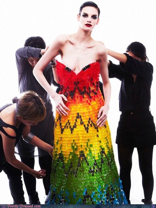art,candy,dress,fashion,haribo
