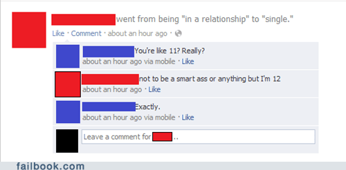 12,children,im 12 and what is this,in a relationship,kid,relationship,smartass,young