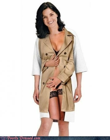 I Want a Girl With A Long Shirt With a Long Jacket (On It)