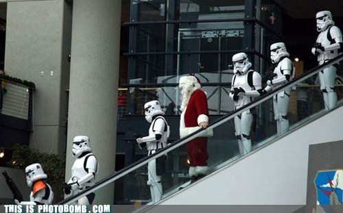 My Stormtrooper Costume is at the Cleaners