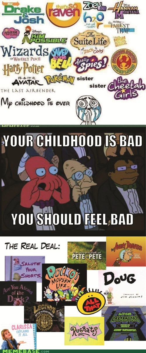 Your Childhood is Bad! You Should Feel Bad!