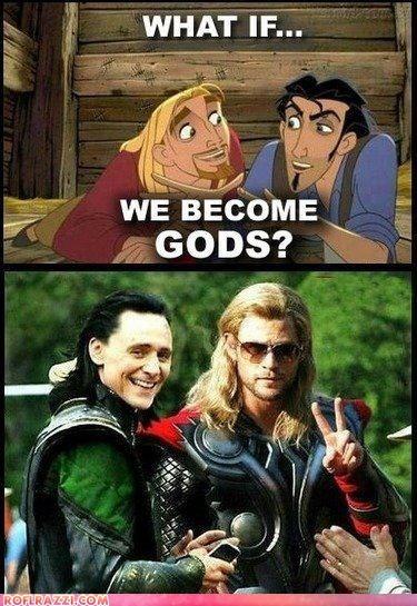 actor,animation,celeb,chris hemsworth,disney,funny,Movie,the road to el dorado,tom hiddleston