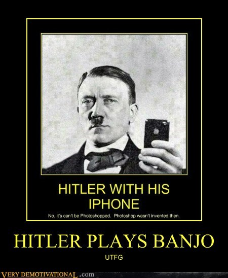 HITLER PLAYS BANJO