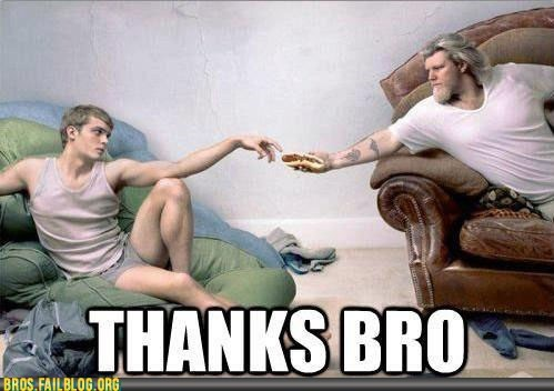 Bros: Thanks for the Rib, Bro