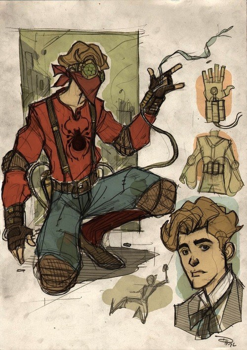 Steampunk Spider-Man of the Day