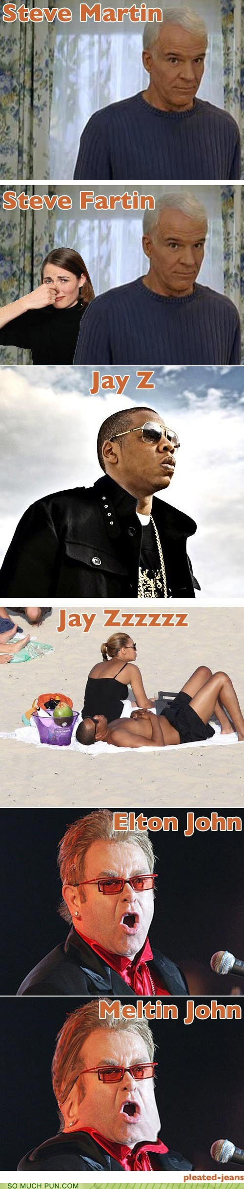 So Much Pun: Celebrity Name Puns, Round One Zillion