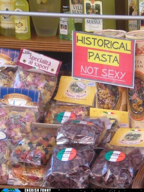 historical pasta,not sexy,rigatoni