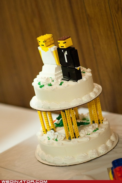 A Couple of Blockheads Get Married