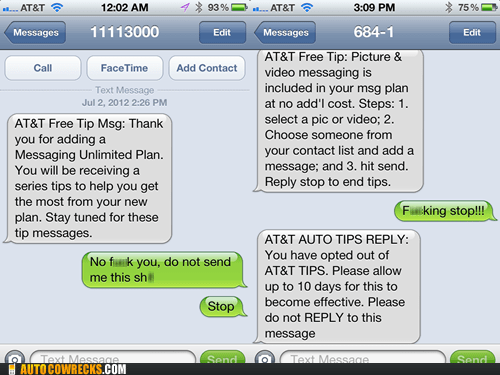 AT&T Doesn't Respond to Poor Manners