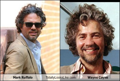 Mark Ruffalo Totally Looks Like Wayne Coyne