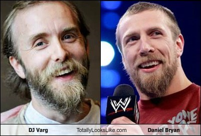 DJ Varg Totally Looks Like Daniel Bryan