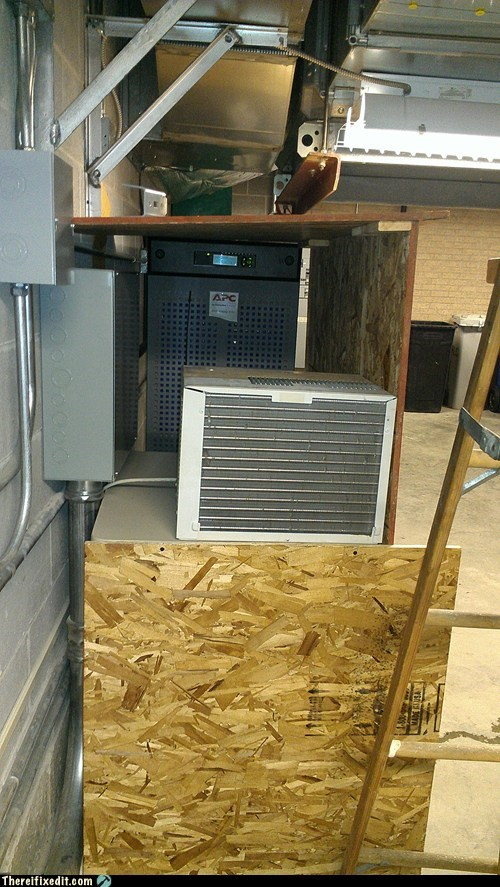air conditioning,battery backup system,plywood
