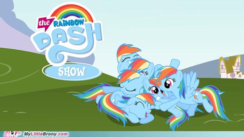 The Rainbow Dash Show