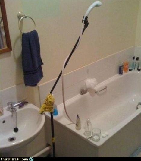 shower,showerhead,singin in the rain