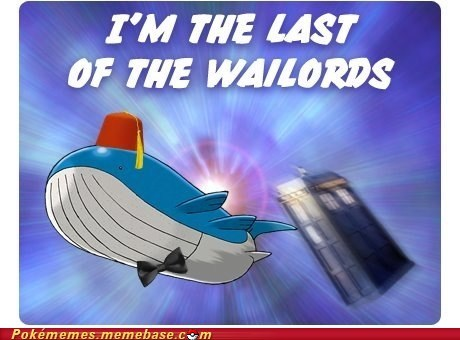 Pokémemes: Wailord is Clearly a Star Whale