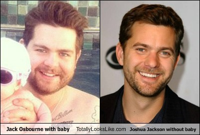 Jack Osbourne Totally Looks Like Joshua Jackson