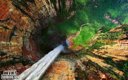 mother nature ftw,vertigo,waterfall,wincation