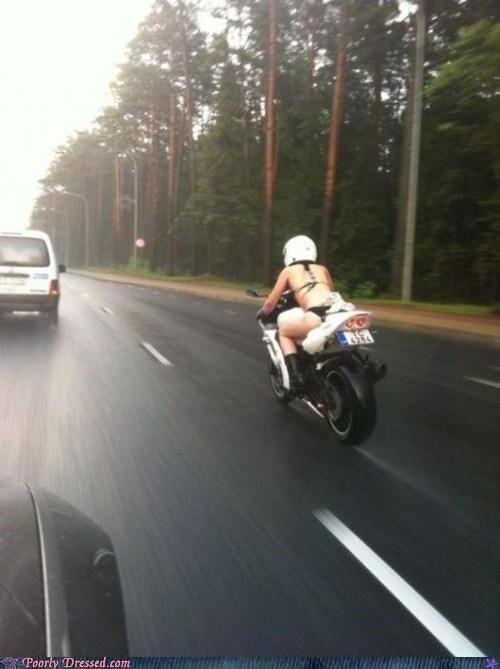 bathing suit,bike,helmet,motorcycle,swimming