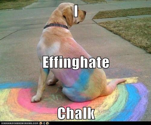 I Effinghate Chalk
