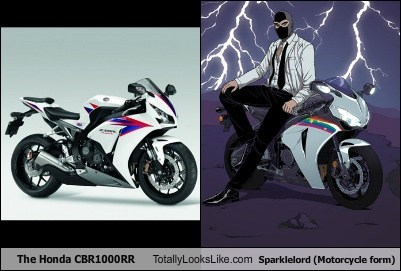 The Honda CBR1000RR Totally Looks Like Sparklelord (Motorcycle Form)