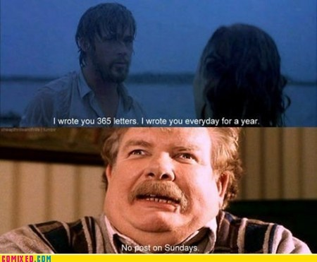 best of week,From the Movies,Harry Potter,herp derp,no post on sunday,Ryan Gosling,the notebook