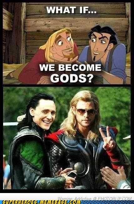 el dorado,gods,loki,Super-Lols,Thor