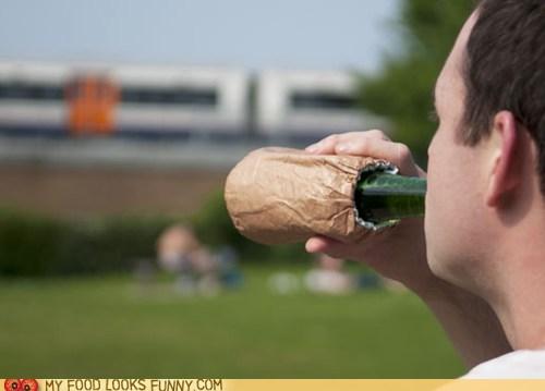 bag,beer,drinking,hobo,koozie
