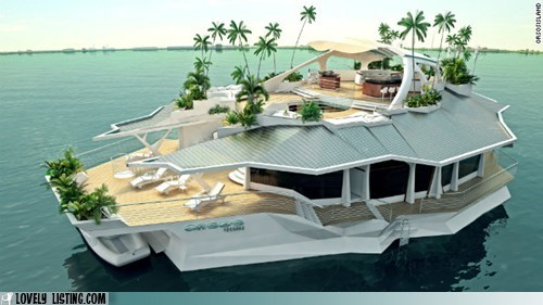 Private Mobile Island