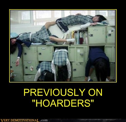 "PREVIOUSLY ON ""HOARDERS"""