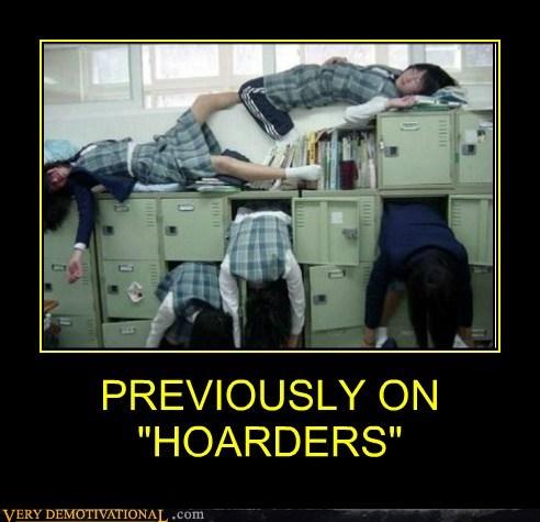 hilarious,hoarders,japanese,school girls