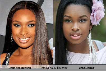Jennifer Hudson Totally Looks Like CoCo Jones