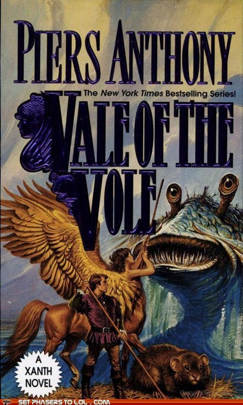 WTF Sci-Fi Book covers: Vale of the Vole
