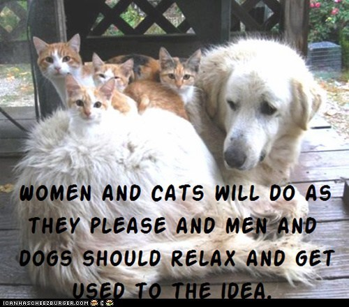 Cat Truisms - women