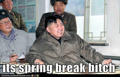 its spring break bitch