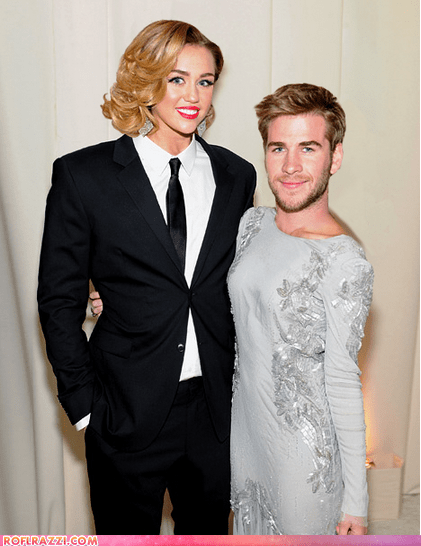 The Miley Cyrus/Liam Hemsworth Face Swap