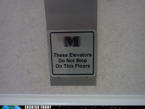 These Floors Are Off Limits!
