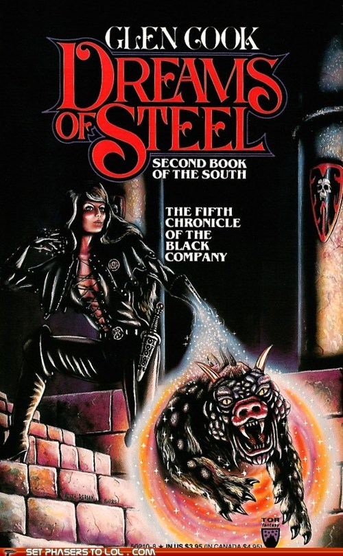 WTF Sci-Fi Book Covers: Dreams of Steel