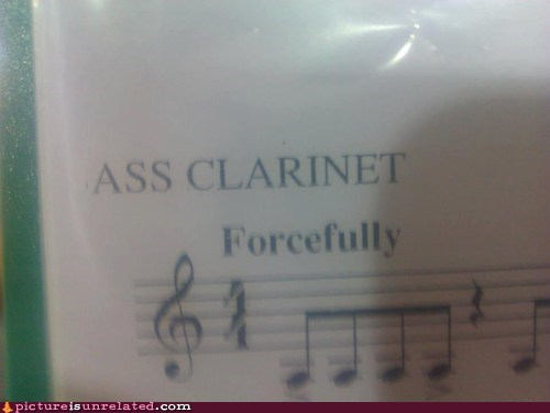 Yeah, You Play That Clarinet