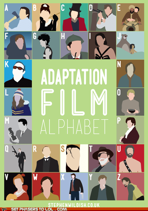Adaptation Film Alphabet