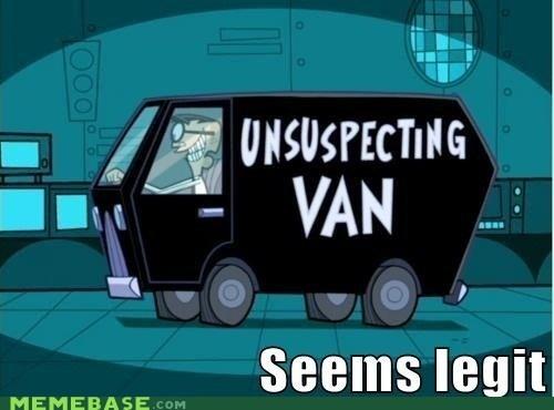 Fairly Oddparents,seems legit,van