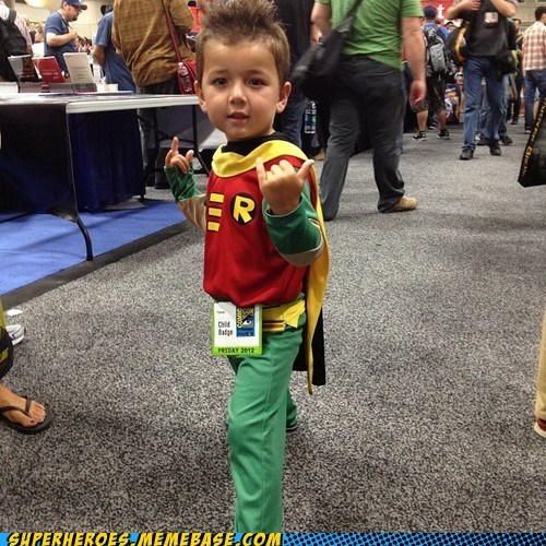 From SDCC: Younger Than Damian...