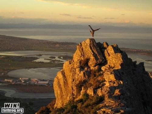 handstand,mother nature ftw,posing,rock,wincation