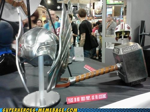 avengers,marvel,mjolnir,props,sdcc 2012,The Movies,Thor