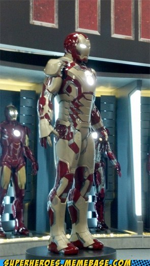 From SDCC: The New Iron Suit?