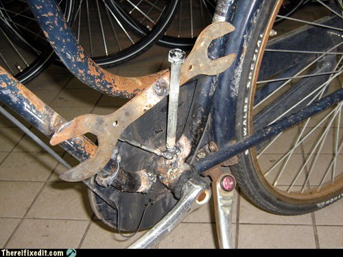Broken Bicycle Frame?