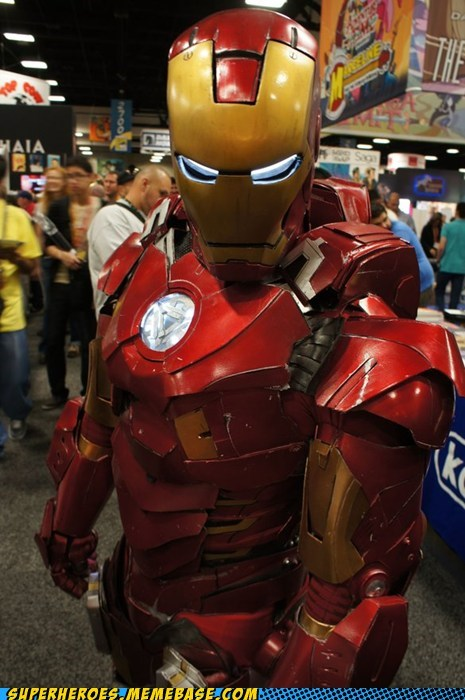 From SDCC: Amazing Ironman!