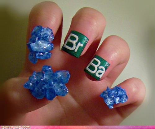 breaking bad,funny celebrity pictures,if style could kill,manicure,nail art,nails