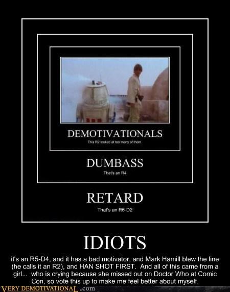 r2d2,droids,Star Trek,idiots,funny